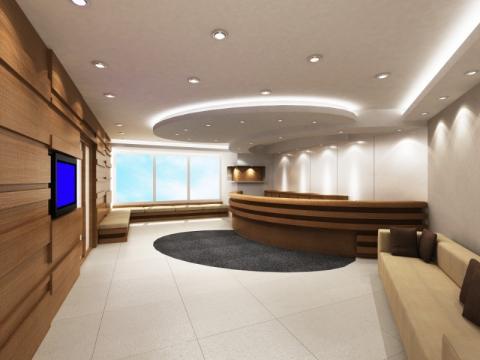 aménagement bureaux par le cabinet d'architecte à Charleroi