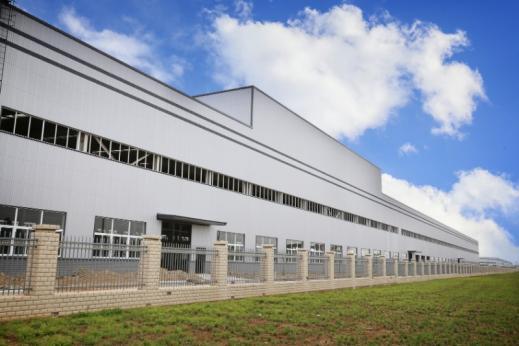 Conception bâtiment industriel par A+11 à Charleroi