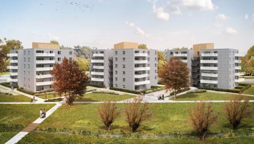 Atelier architecture charleroi u projet de construction marché public