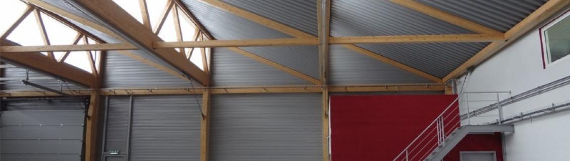réalisation bâtiment industriel à l'atelier d'architecture à Charleroi